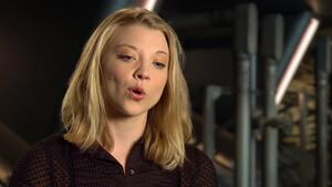 Mockingjay Part 1 - Natalie Dormer Cresida Interview
