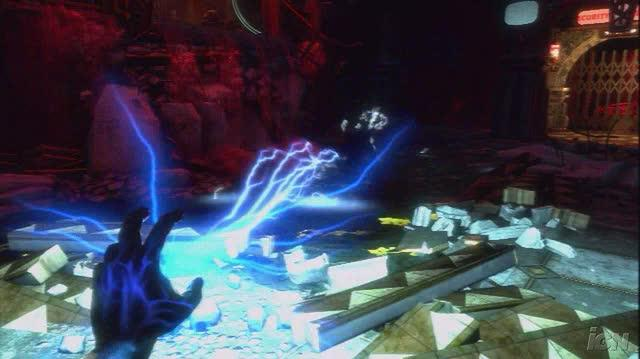 BioShock Xbox 360 Gameplay - Electricity+Water=Bad