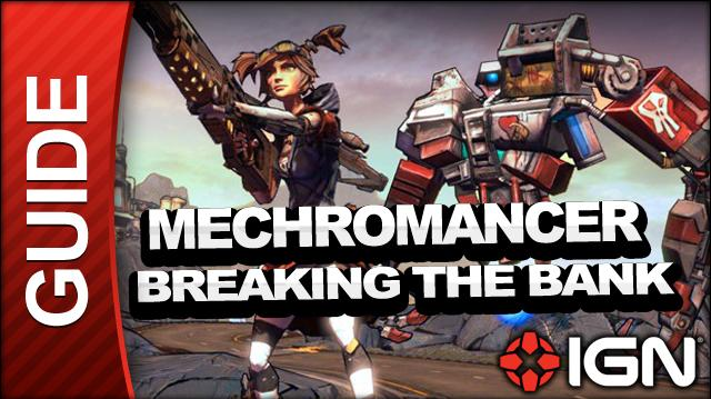 Borderlands 2 Mechromancer Walkthrough - Breaking the Bank - Side Mission