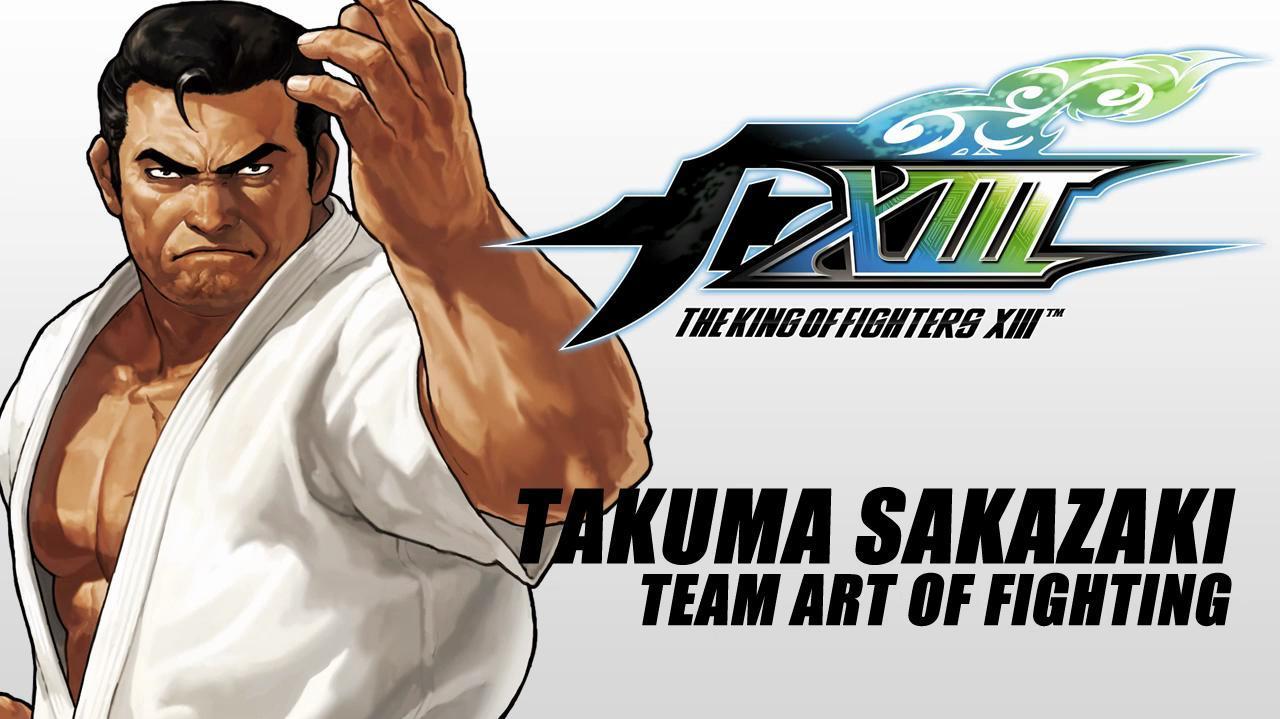 The King of Fighters XIII - Takuma Sakazaki Spotlight
