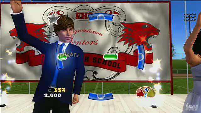 High School Musical 3 Senior Year Dance (Dance Pad Bundle) Xbox 360 Gameplay - High School Musical