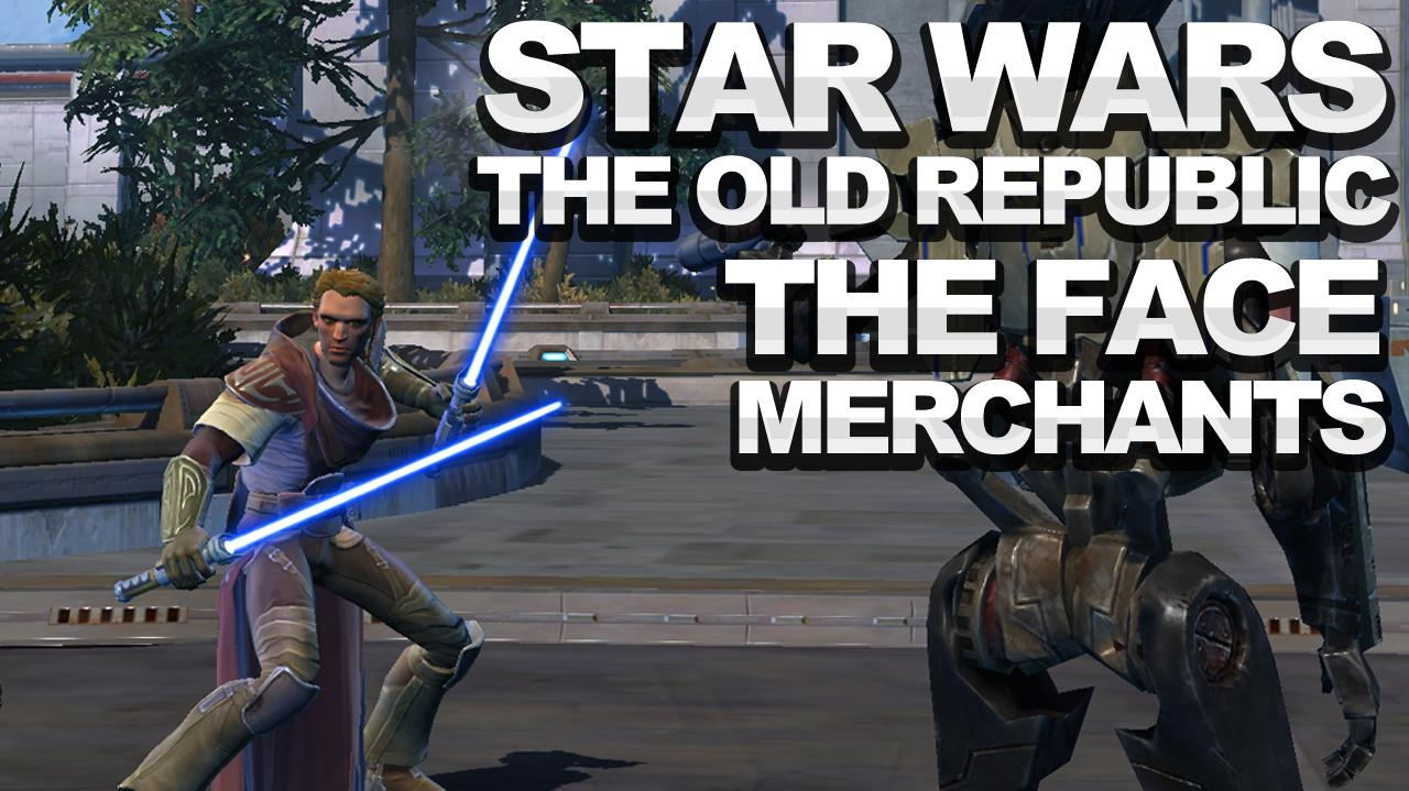 Star Wars The Old Republic - Heroic The Face Merchants