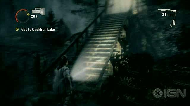 Alan Wake X360 - Walkthrough - Alan Wake - Nightmare Difficulty - Episode 6 - Generator Fight