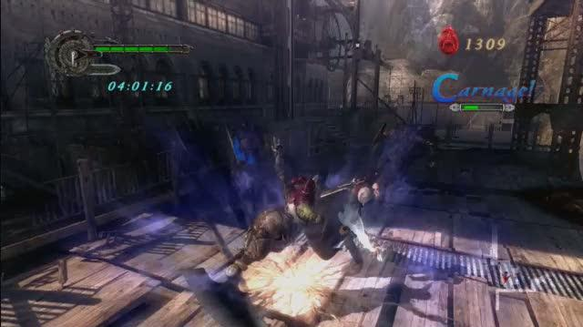 Devil May Cry 4 Xbox 360 Gameplay - Killer Combos (HD)