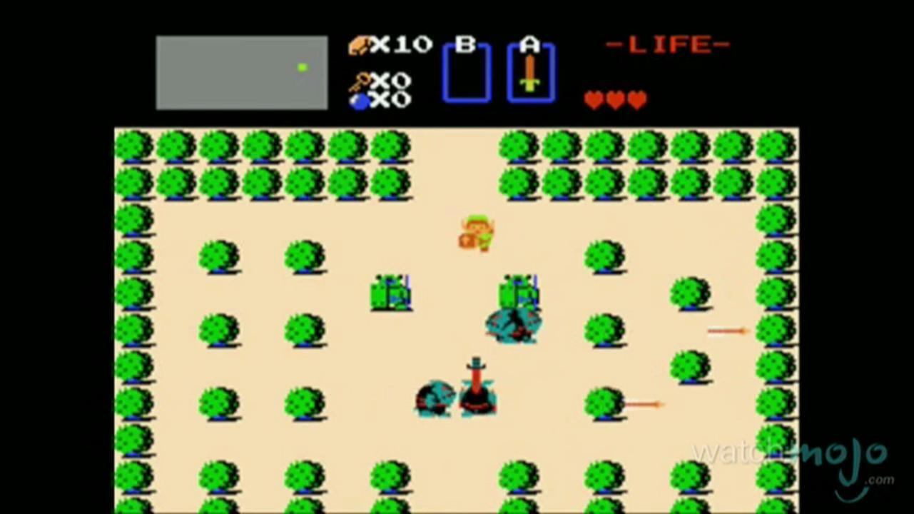 Watchmojo Video Game Classics The Legend of Zelda