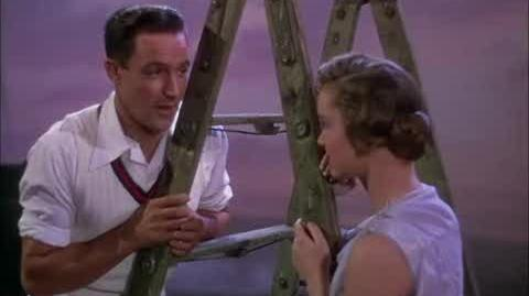 Singin' in the Rain - Don sings to Kathy