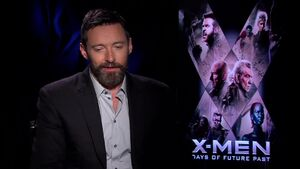 X-Men Days of Future Past - Hugh Jackman Interview