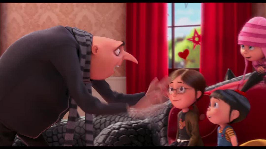 "Despicable Me - Clip ""Gru Tells The Girls He's Got A New Job"""