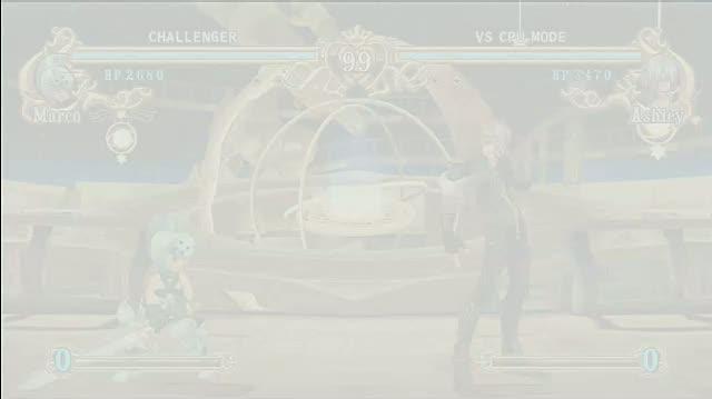 Battle Fantasia Xbox 360 Gameplay - Marco vs