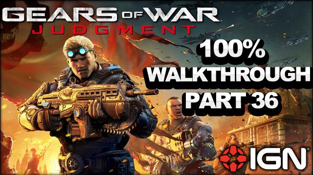 Gears of War Judgment Walkthrough - Grand Courtroom - Declassified Mission and Cog Tag (Part 36)