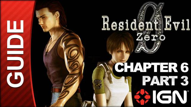 Resident Evil Zero (GameCube) - Chapter 6 Part 3 - Queen Leech Boss Fight - Walkthrough