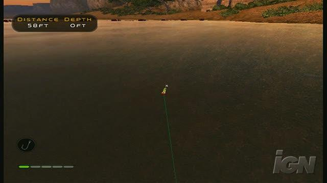 Bass Pro Shops The Strike Nintendo Wii Gameplay - Reeling in Some Fish (480p)