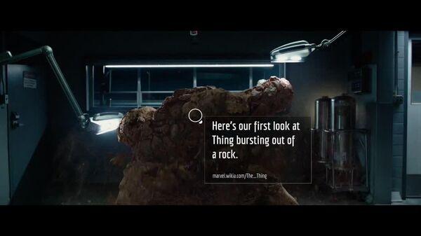 Fantastic Four - Debut Trailer Fannotation