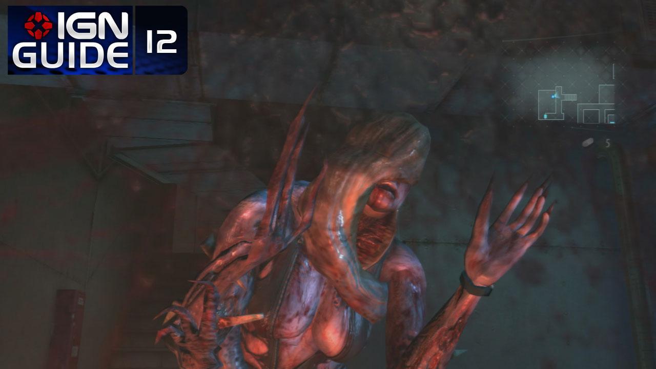 Resident Evil Revelations Walkthrough - Episode 4-1C (Part 12)