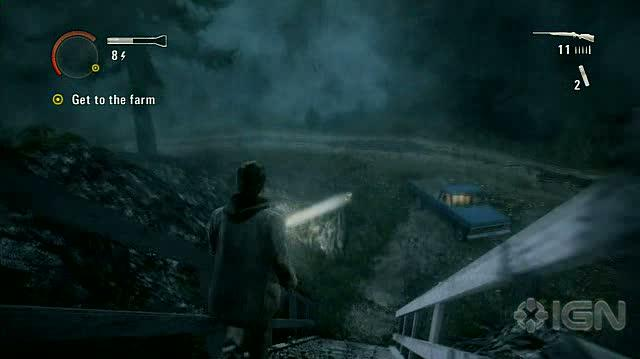 Alan Wake X360 - Walkthrough - Alan Wake - Nightmare Difficulty - Episode 4 - Drive to the Farm