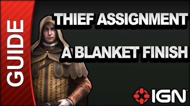 Assassin's Creed Brotherhood Walkthrough - Thief Assignments A Blanket Finish