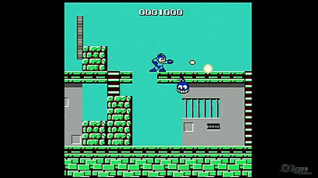 Mega Man Retro Game Gameplay - Gameplay