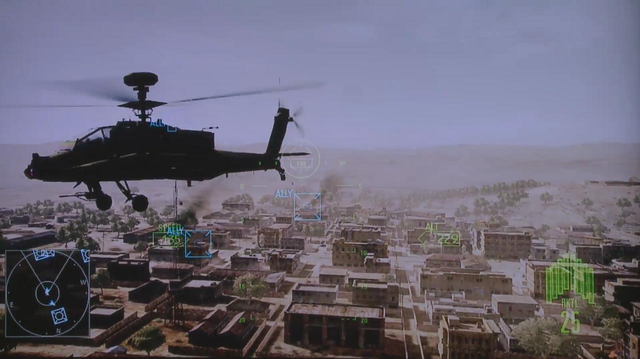 E3 2011 Ace Combat Assault Horizon Off-Screen Demo Part 1
