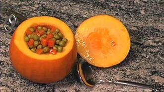 How to use pumpkins as serving dishes