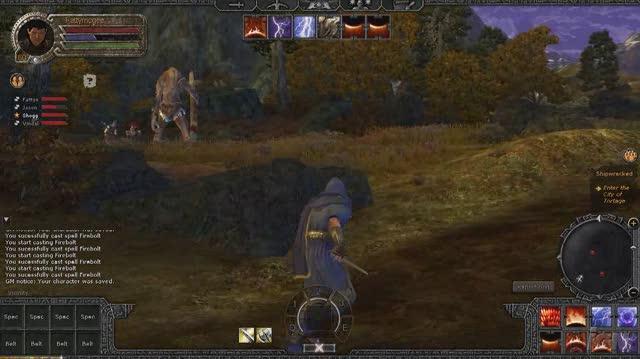 Age of Conan Hyborian Adventures PC Games Gameplay - Attack of the Yeti (HD)