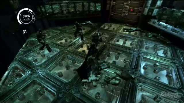 Batman Arkham Asylum PlayStation 3 Gameplay - Electric Slide (PS3 Footage)