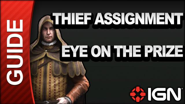 Assassin's Creed Brotherhood Walkthrough - Thief Assignments Eye on the Prize