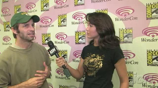 300 Movie Interview - Zach Snyder At WonderCon 07