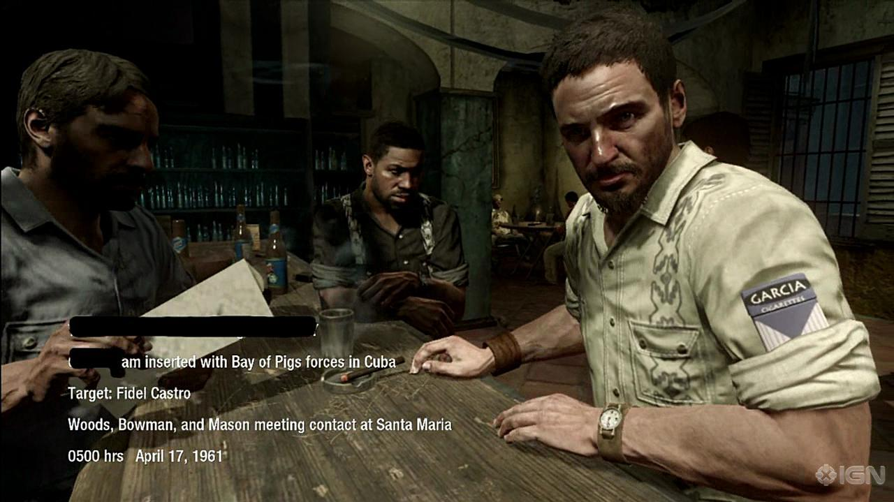 Call of Duty Black Ops Bar Fight Gameplay