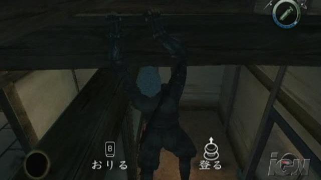 Tenchu Shadow Assassins Nintendo Wii Video - Kill from above