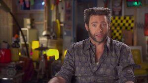 X-Men Days of Future Past - Hugh Jackman Interview 2
