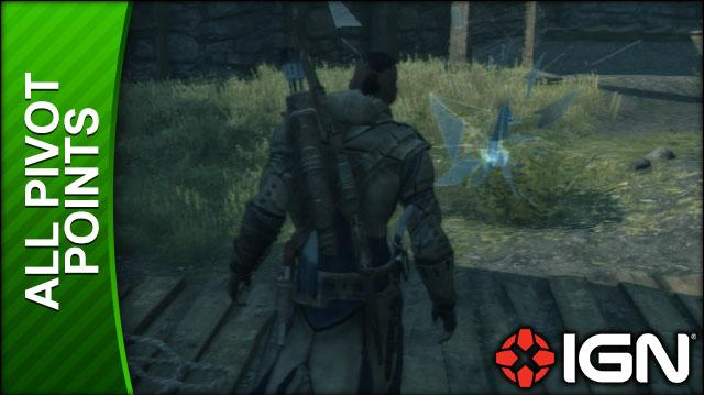 Assassin's Creed 3 Walkthrough - All Pivot Locations
