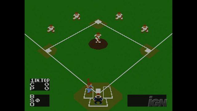 Baseball Nintendo Wii Clip - At the Plate