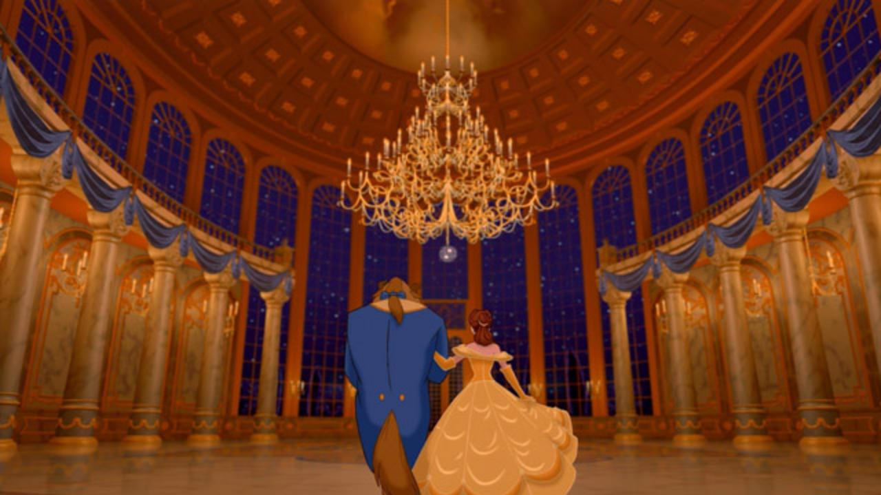 Beauty and the Beast Ballroom Dance