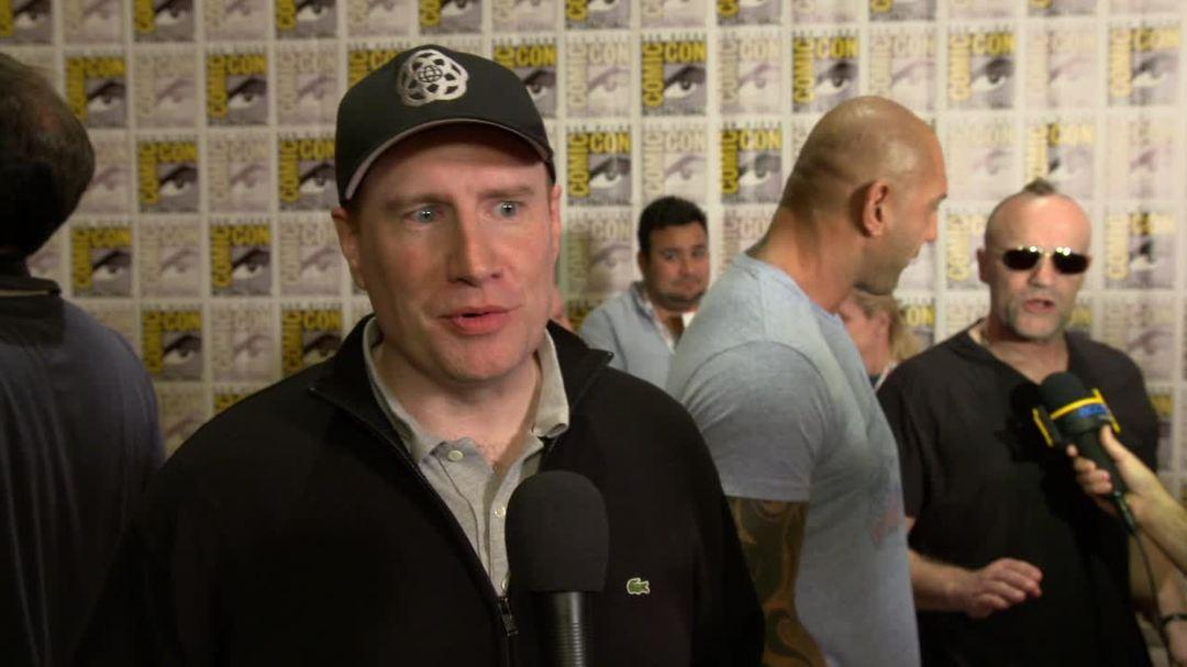Guardians of the Galaxy Comic-Con 2013 Interview - Kevin Feige, Marvel Studios President