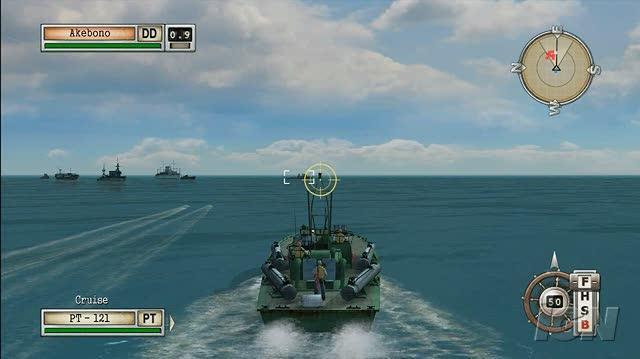 Battlestations Midway Xbox 360 Gameplay - Lombok PT Boat