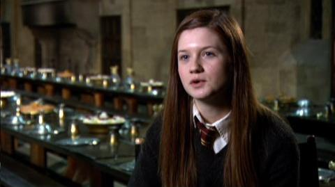 """Harry Potter and the Half-Blood Prince (2009) - Interview Bonnie Wright """"On her friendship with Harry"""""""