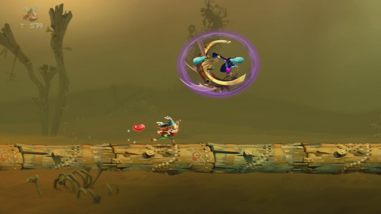 Rayman Legends Walkthrough Teensies in Trouble - Quick Sand
