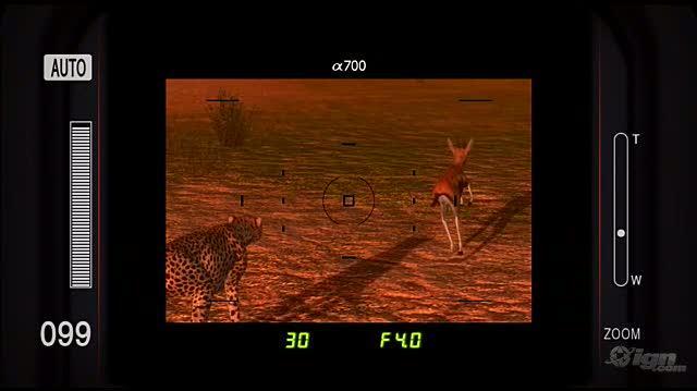 Afrika PlayStation 3 Gameplay - Cheetah Hunting