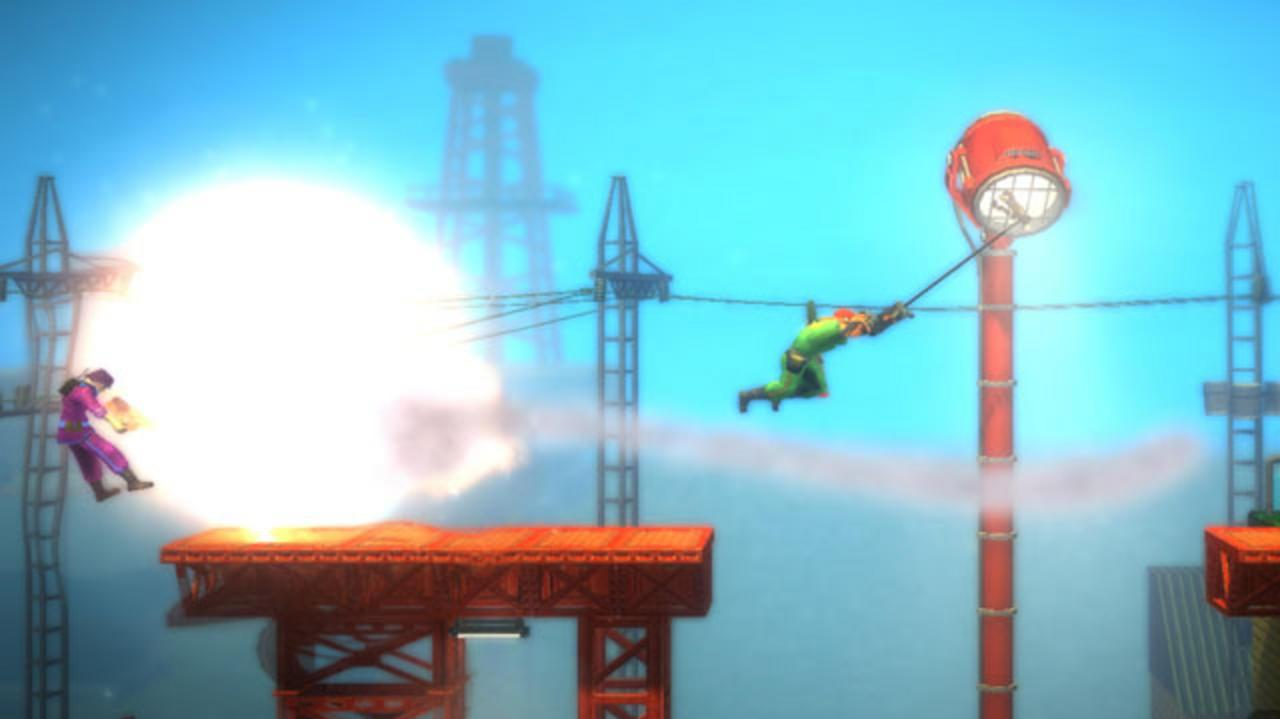 Bionic Commando Rearmed Xbox Live Review - Video Review