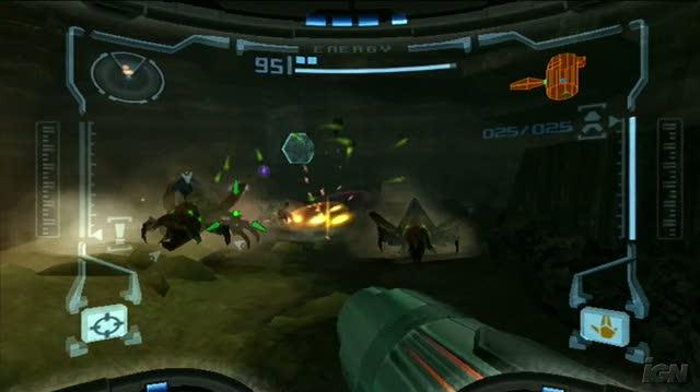 New Play Control! Metroid Prime Nintendo Wii Gameplay - Tallon