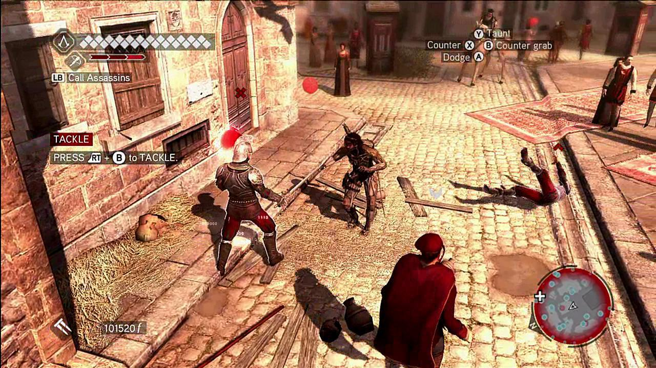 Assassin's Creed Brotherhood The Suit Makes The Man Gameplay