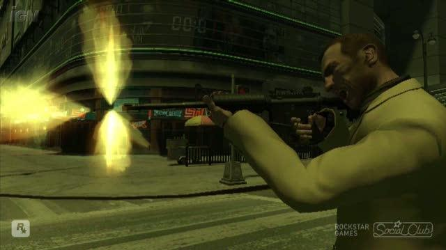Grand Theft Auto IV PC Games Video - Niko vs. Niko