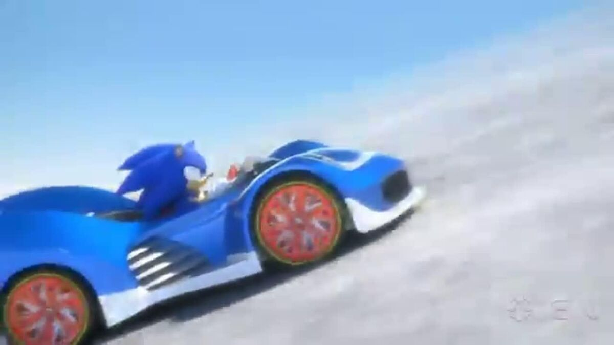 Sonic & All-Stars Racing Transformed Reveal Trailer
