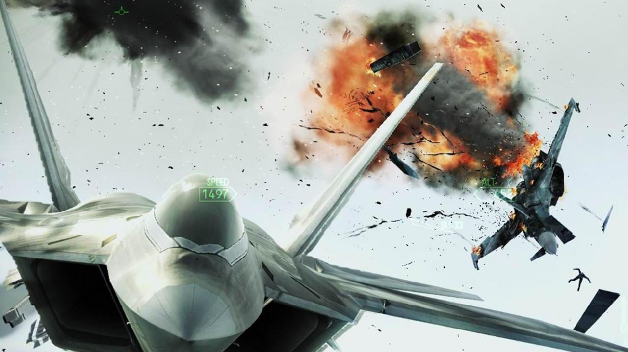 Ace Combat Assault Horizon Gameplay Video