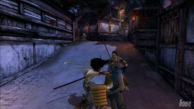 Afro Samurai PlayStation 3 Gameplay - Body Part Poker