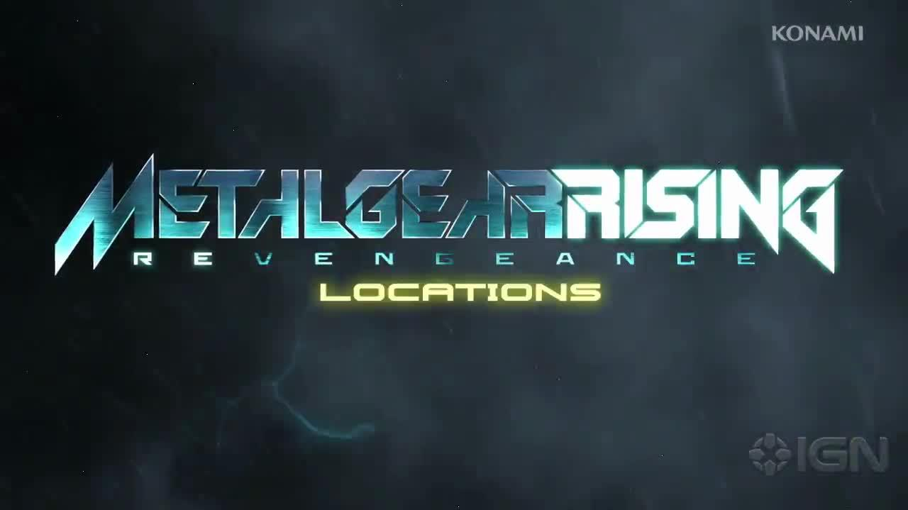 Metal Gear Rising Revengeance - Locations Gameplay