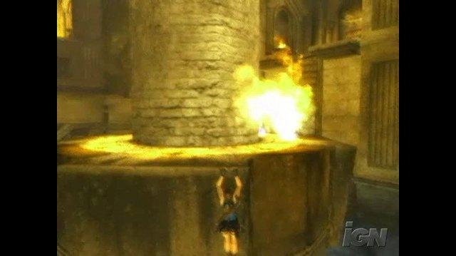 Tomb Raider Anniversary PlayStation 2 Gameplay - Hang In There