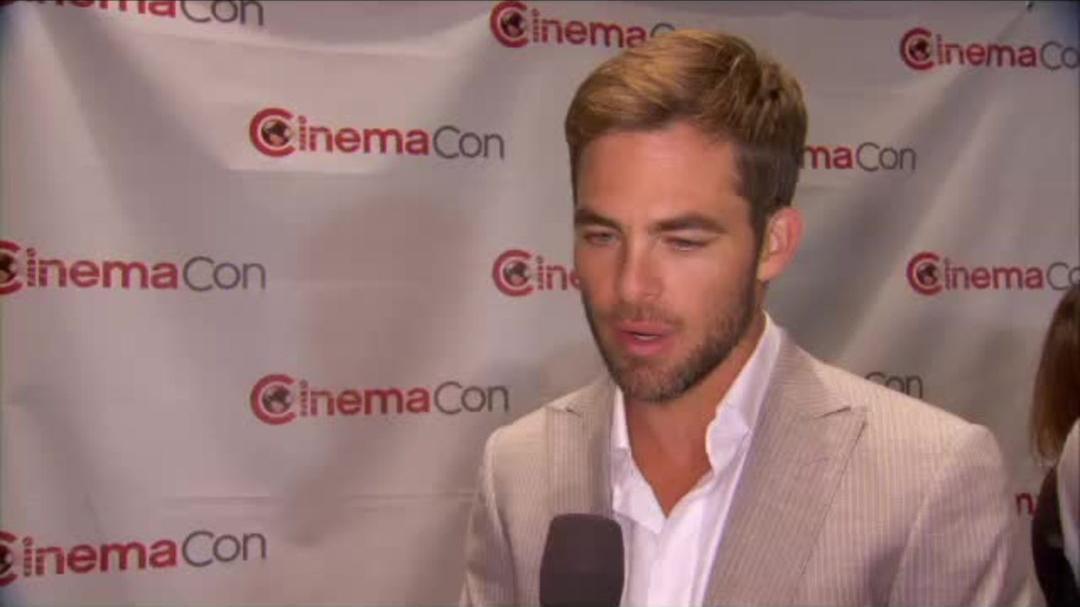 Star Trek CinemaCon - Chris Pine Interview