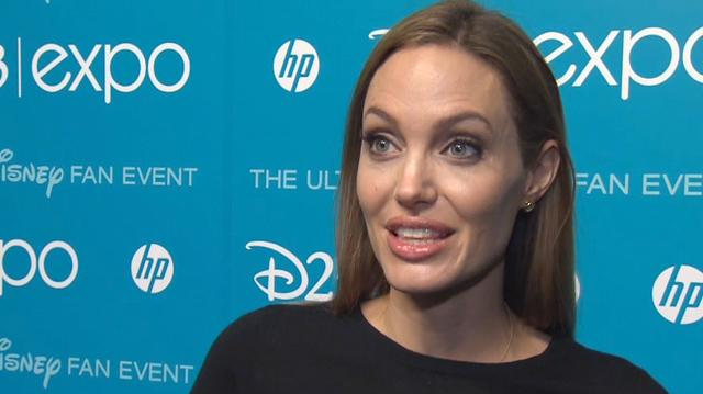 Angelina Jolie Talks Maleficent at D23