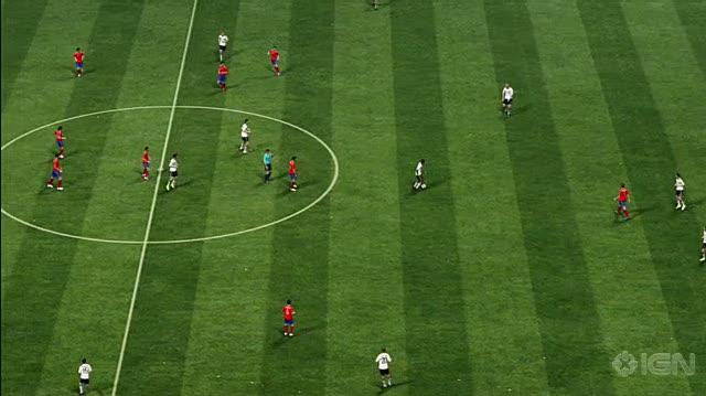 FIFA '10 World Cup X360 - World Cup Semifinals Simulation